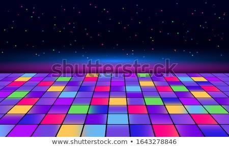 Dance floor disco poster background Stock photo © simpson33