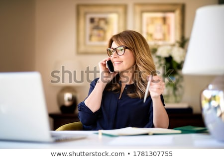 Portrait of an executive secretary Stock photo © photography33
