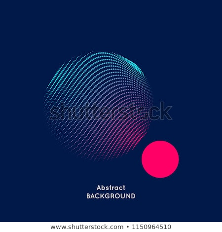 abstract musical sound with circle bubbles Stock photo © pathakdesigner