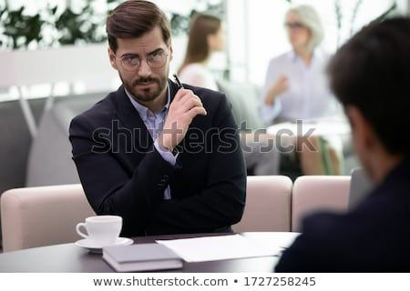Suspicious business partners Stock photo © photography33