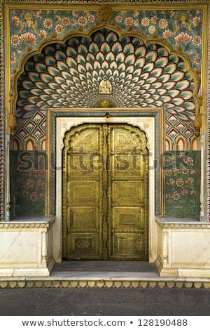 Fort porta India sole legno Foto d'archivio © calvste