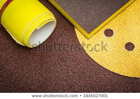 various sandpaper stock photo © prill