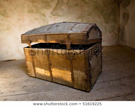 古い 木製 ボックス 捨てられた 木材 ストックフォト © jeremywhat