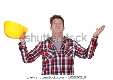 Builder stood in disbelief Stock photo © photography33