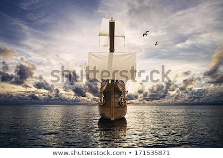 antigo · equipamento · velho · veleiro · madeira - foto stock © taiga