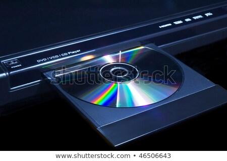 Black dvd player Stock photo © ozaiachin