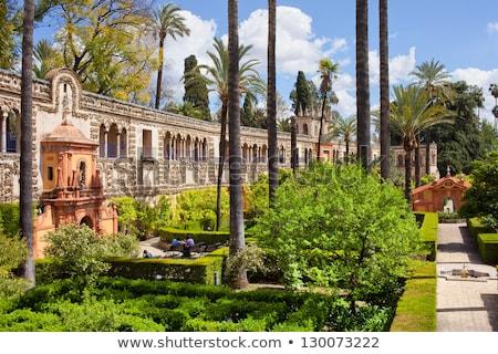 Grotesque Gallery in Real Alcazar of Seville Stock photo © rognar