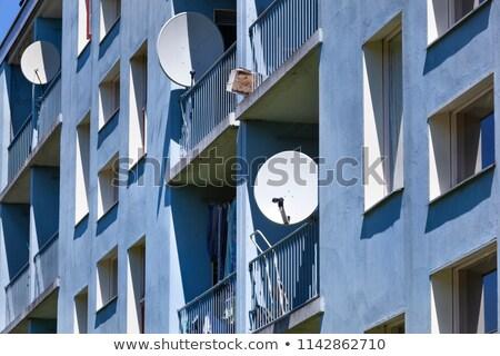 Obniżyć klasy sąsiedztwo konia domu budynków Zdjęcia stock © jkraft5