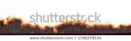 Korozyon büyük güzel eski doku soyut Stok fotoğraf © jonnysek
