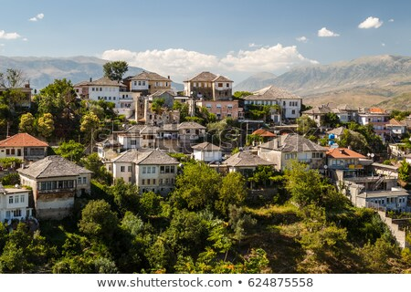 Albânia cidade velha arquitetura europa ver cidade Foto stock © travelphotography