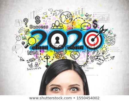 Cambio estrategia decisión negocios vida Foto stock © Lightsource