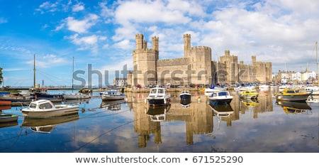 caernarfon castle stock photo © ollietaylorphotograp
