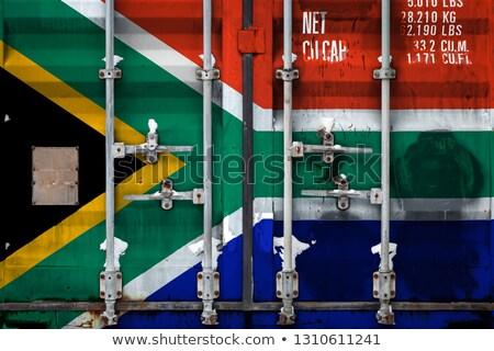 Afrika economie activiteit business wereldkaart versnellingen Stockfoto © Lightsource