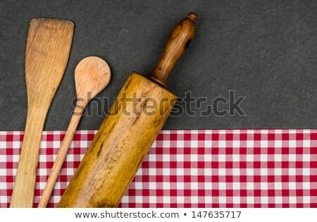 麺棒 プレート テクスチャ 食品 デザイン ストックフォト © Zerbor