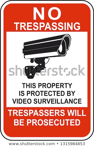 No Trespassing Sign Stock photo © ArenaCreative