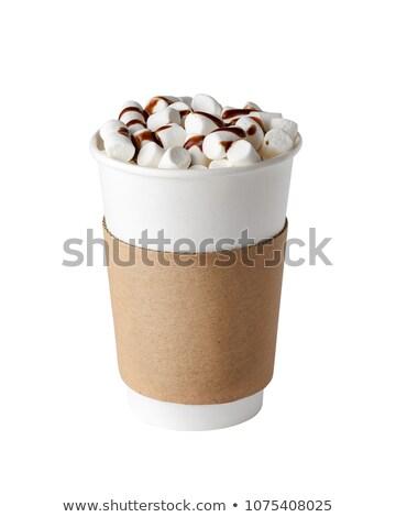 hot chocolate glass, empty Stock photo © kokimk