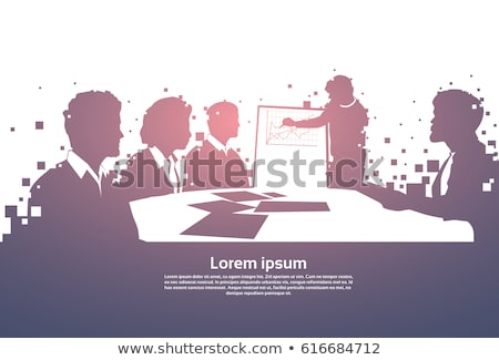 training business background stock photo © tashatuvango