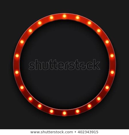 red circus retro stock photo © tintin75