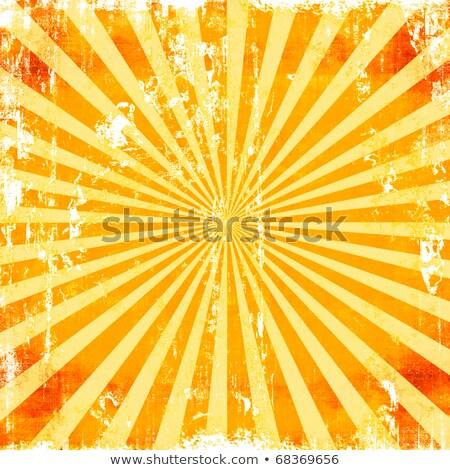 Coloré grunge vecteur soleil résumé Photo stock © burakowski