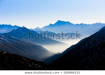 view from Furkapass to Andermatt, canton Graubunden, Switzerland Stock photo © phbcz