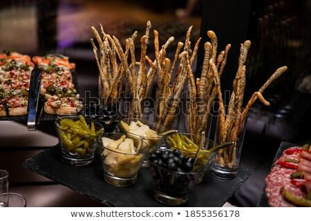 Snacks at the buffet Stock photo © Farina6000