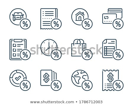 icons related to purchasing a car  Stock photo © Krisdog