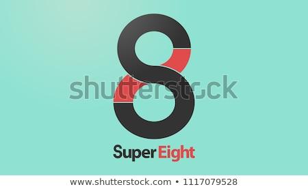 Logo design otto colori design successo società Foto d'archivio © opicobello