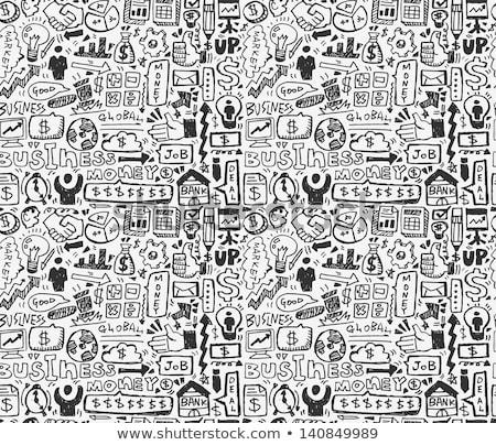 эскиз рисованной стиль бизнеса дизайна Сток-фото © kali