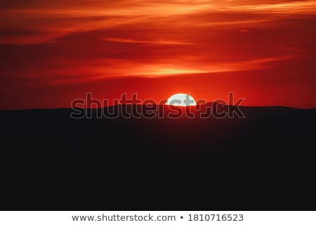 Landscape of cloud above cordillera in the morning Stock photo © Yongkiet