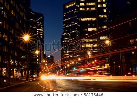 ночь выстрел Торонто ночному городу город Онтарио Сток-фото © pictureguy