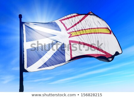Flag of Newfoundland and Labrador Stock photo © creisinger