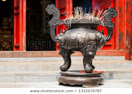 Burning Incense In Urn Stock photo © searagen
