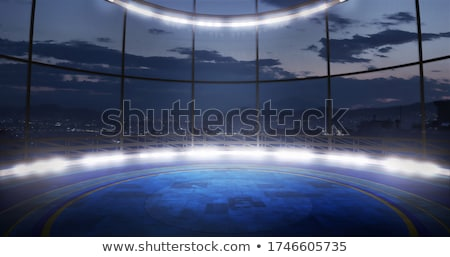Industrial track - 3D render Stock photo © Elenarts