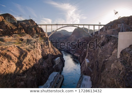 フーバー·ダム · ビジター · センター · ネバダ州 · 観光 - ストックフォト © rigucci