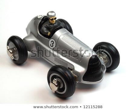 brinquedo · carros · carro · estacionamento · branco · natureza - foto stock © oleksandro