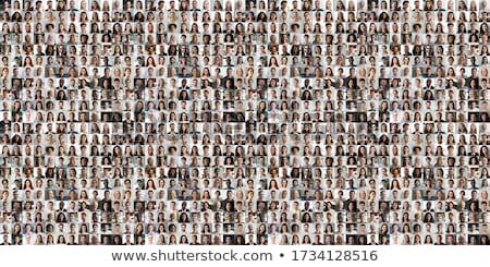 люди иллюстрация мутация человек женщину девушки Сток-фото © Lom