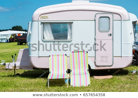 caravan old Stock photo © mariephoto