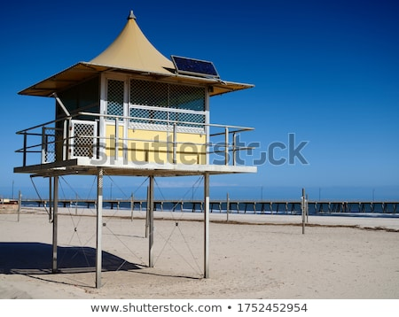 Seaside Coastal Lifeguard Watchtower Stock photo © stevanovicigor