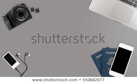 hős · fejléc · kép · takaros · asztali · szkenner - stock fotó © backyardproductions