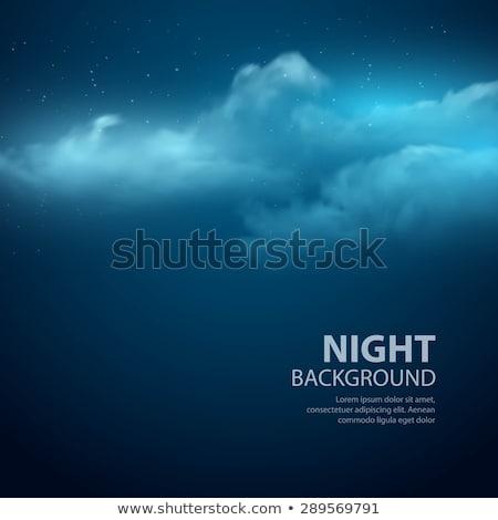 Halloween ay ışığı gece eps 10 korkutucu Stok fotoğraf © beholdereye