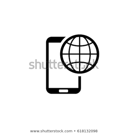 International Roaming Icon. Flat Design. Stock photo © WaD