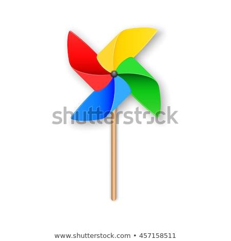 toy windmills stock photo © bluering