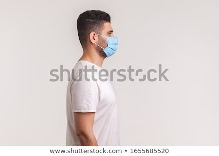a side view of a mans face stock photo © bluering
