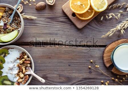 öreg · kulcs · fa · asztal · szó · iroda · gyermek - stock fotó © fuzzbones0