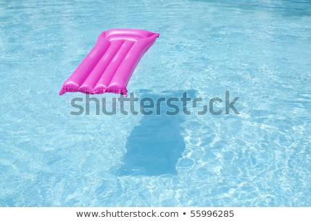 Pink pool raft Stock photo © magraphics