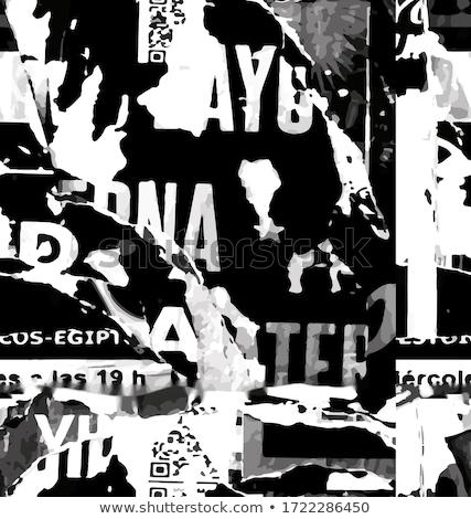 ziel · stencil · brieven · grunge · zwarte · brief - stockfoto © evgeny89