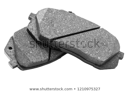 set of new brake pads stock photo © phantom1311