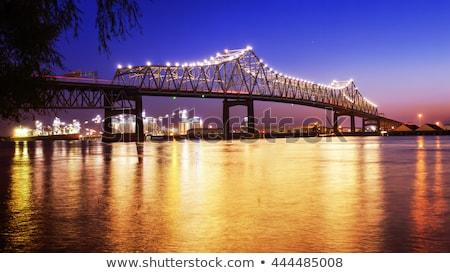 Mississipi nehir köprü Louisiana 13 2013 Stok fotoğraf © meinzahn