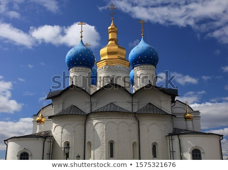 русский · православный · Церкви · облака · мужчин · архитектура - Сток-фото © meinzahn