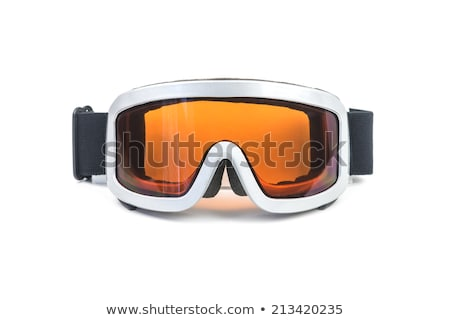 Ski Mask Isolated on White. Snowboard Glasses Stock photo © robuart